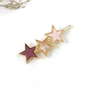(BI) stars hair clip